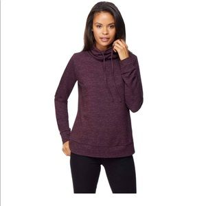 New 32 degrees funnel neck pullover sweater small